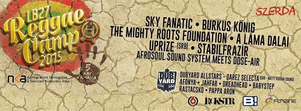 reggae camp szerda