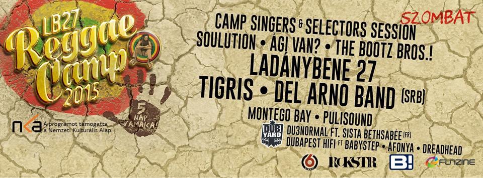 reggae camp szombat